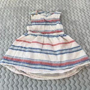Old Navy Linen Dress 3-6M